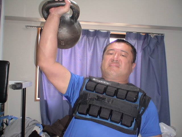 kettlebell weight vest workout