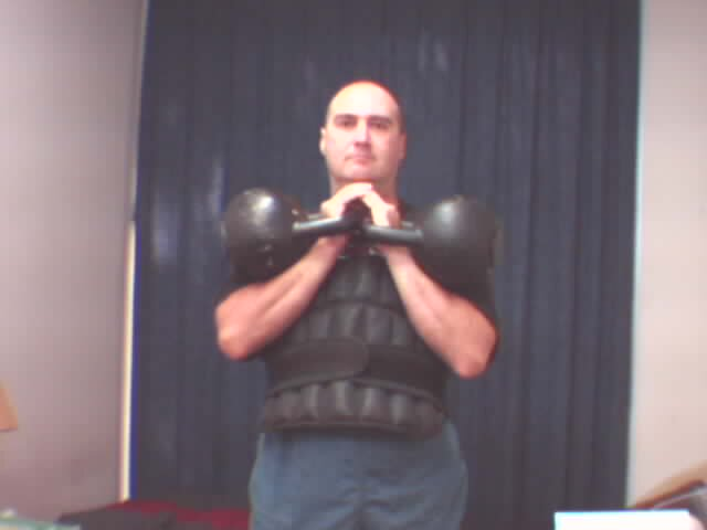 weight vest kettlebells